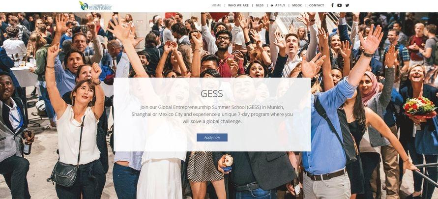 Für Studierende: Jetzt noch für die Global Entrepreneurship Summer School bewerben