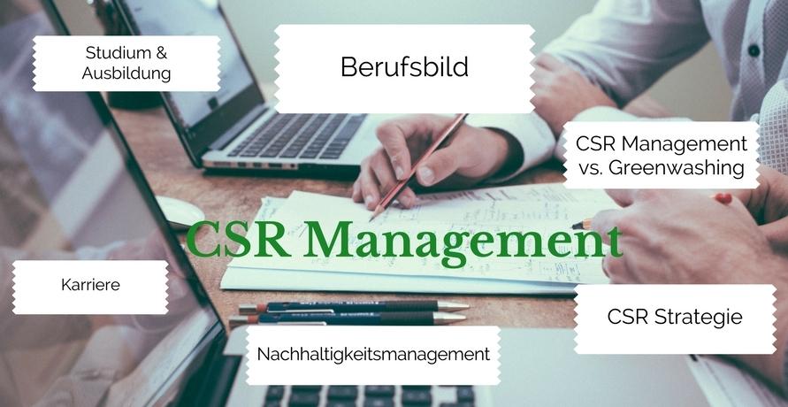 CSR Management: Karriere als Change Agent im Bereich Nachhaltigkeit