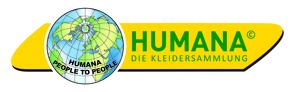 Logo HUMANA Kleidersammlung GmbH