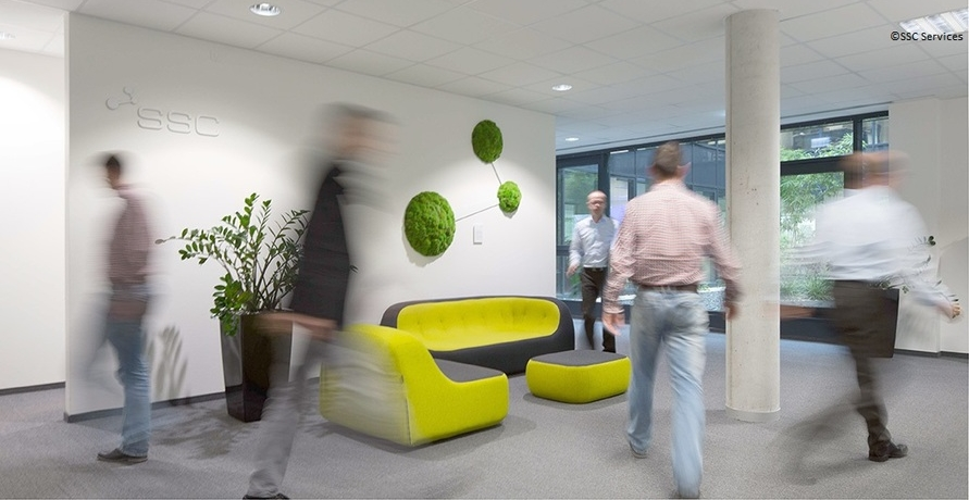 Green IT und Work-Life-Balance bei SSC-Services