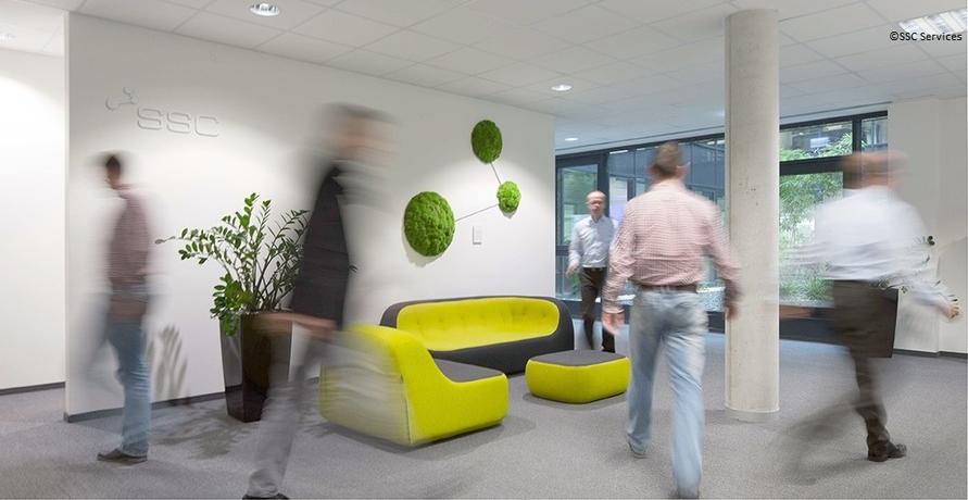 Green IT und Work-Life-Balance bei SSC-Services