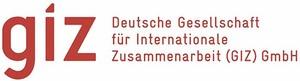 Logo Deutsche Gesellschaft für Internationale Zusammenarbeit GIZ GmbH