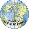 Logo The Federation for Associations connected to the International HUMANA PEOPLE TO PEOPLE Movement
