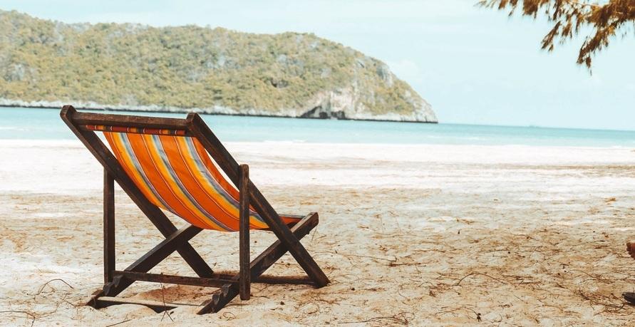 Home Office am Strand - Möglich durch New Work?