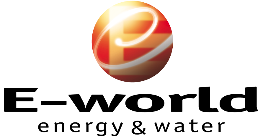 E-world energy & water Logo