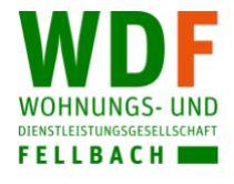 Logo VdW Bayern Treuhand für Wohnungs- und Dienstleistungsgesellschaft Fellbach mbH