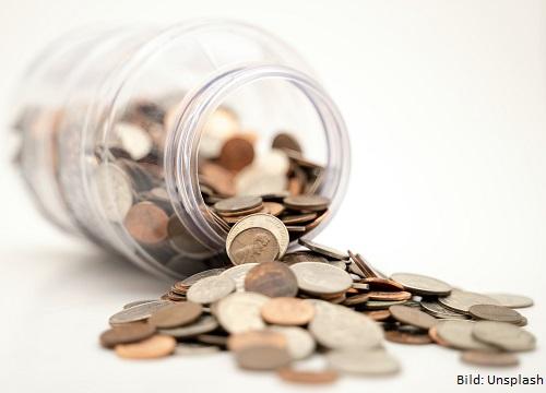 Geld in Glas