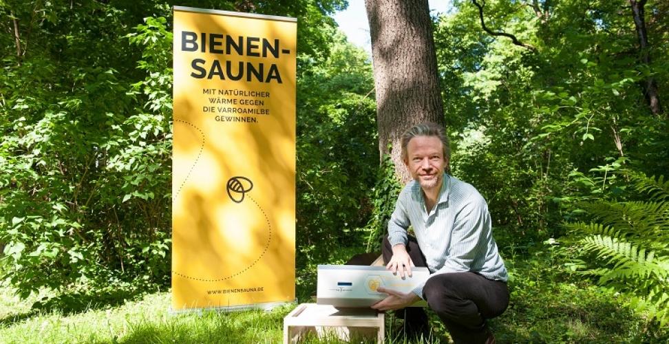 Bienensterben: Die Bienensauna für Imker