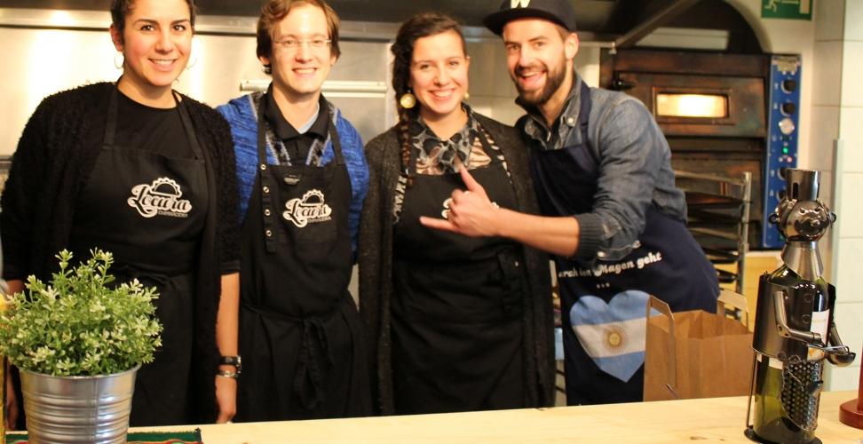 BWL-Studenten kochen im Pop-Up-Restaurant