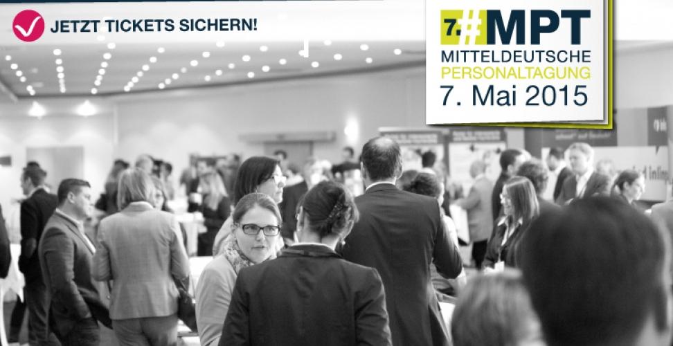 Erfolgsfaktor Personal – Die 7. Mitteldeutsche Personaltagung am 7. Mai 2015